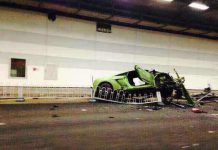 Ferrari 458 Spider and Lamborghini Gallardo Crashed in China