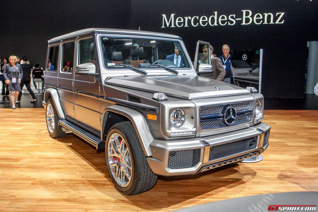 New york 2015 mercedes benz g 65 amg gtspirit for Mercedes benz nyc