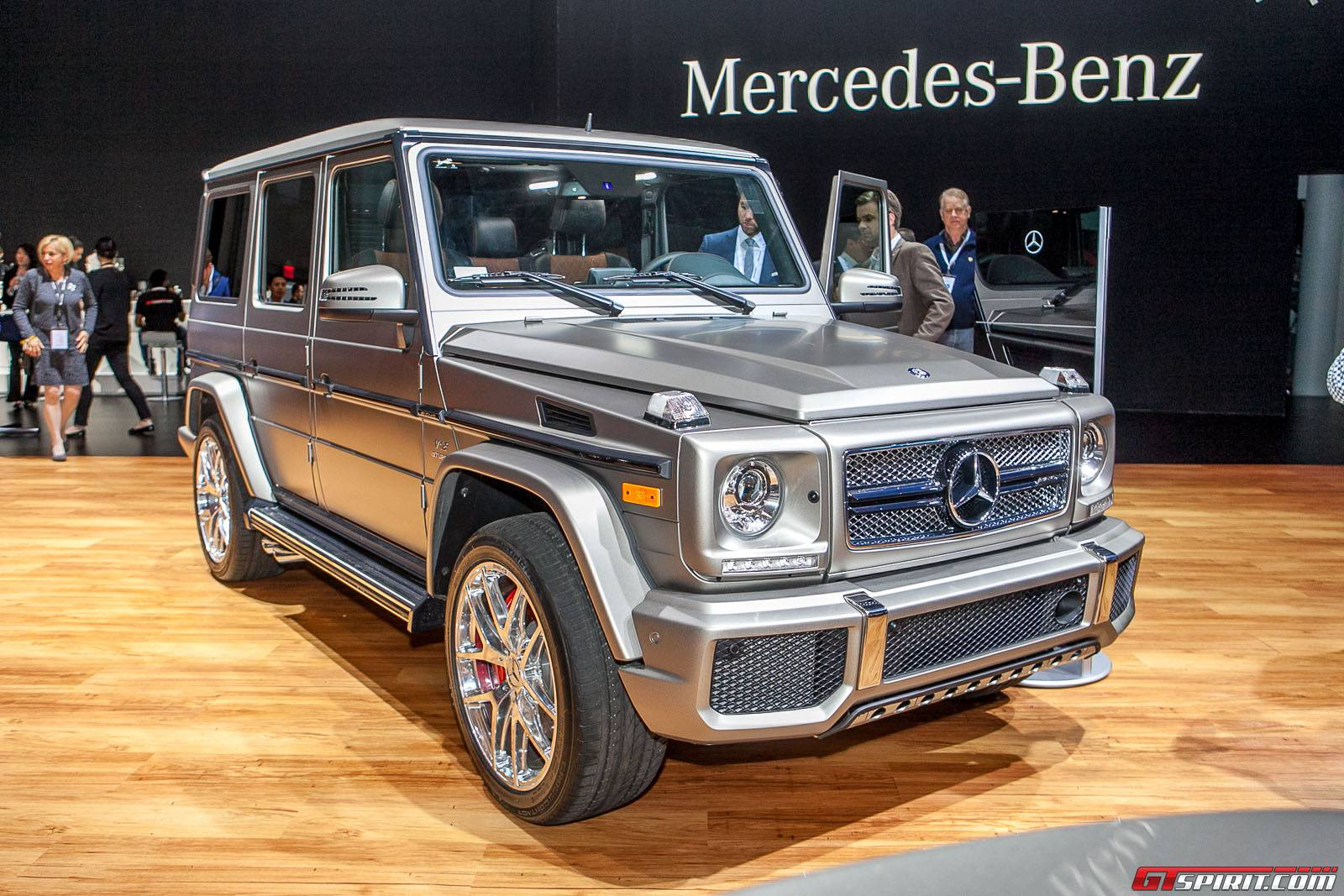 New york 2015 mercedes benz g 65 amg gtspirit for Mercedes benz new cars 2015