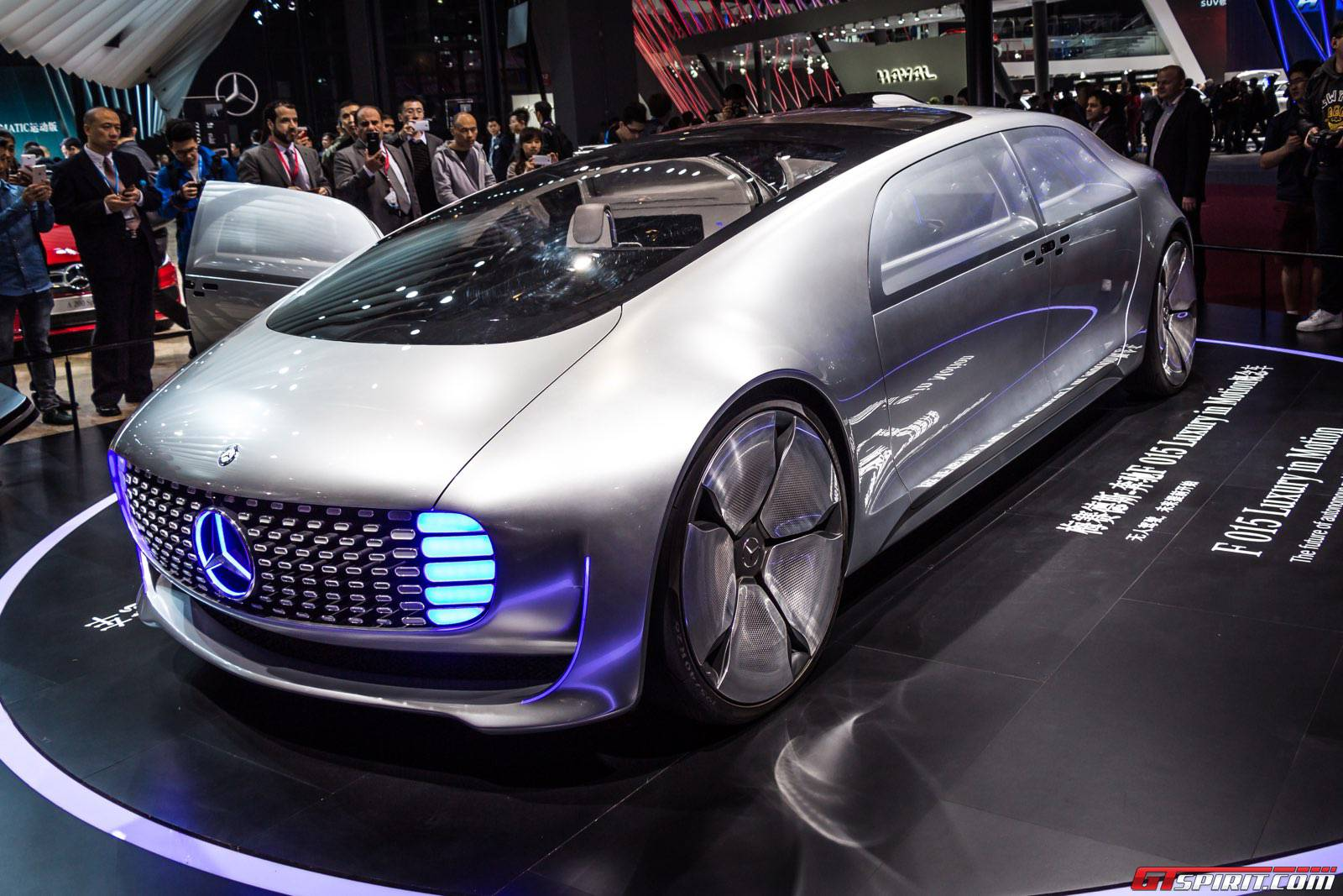 Shanghai 2015 mercedes benz f015 luxury in motion gtspirit - Shanghai auto show ...