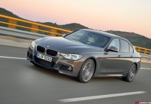 Official: 2016 BMW 3-Series Facelift