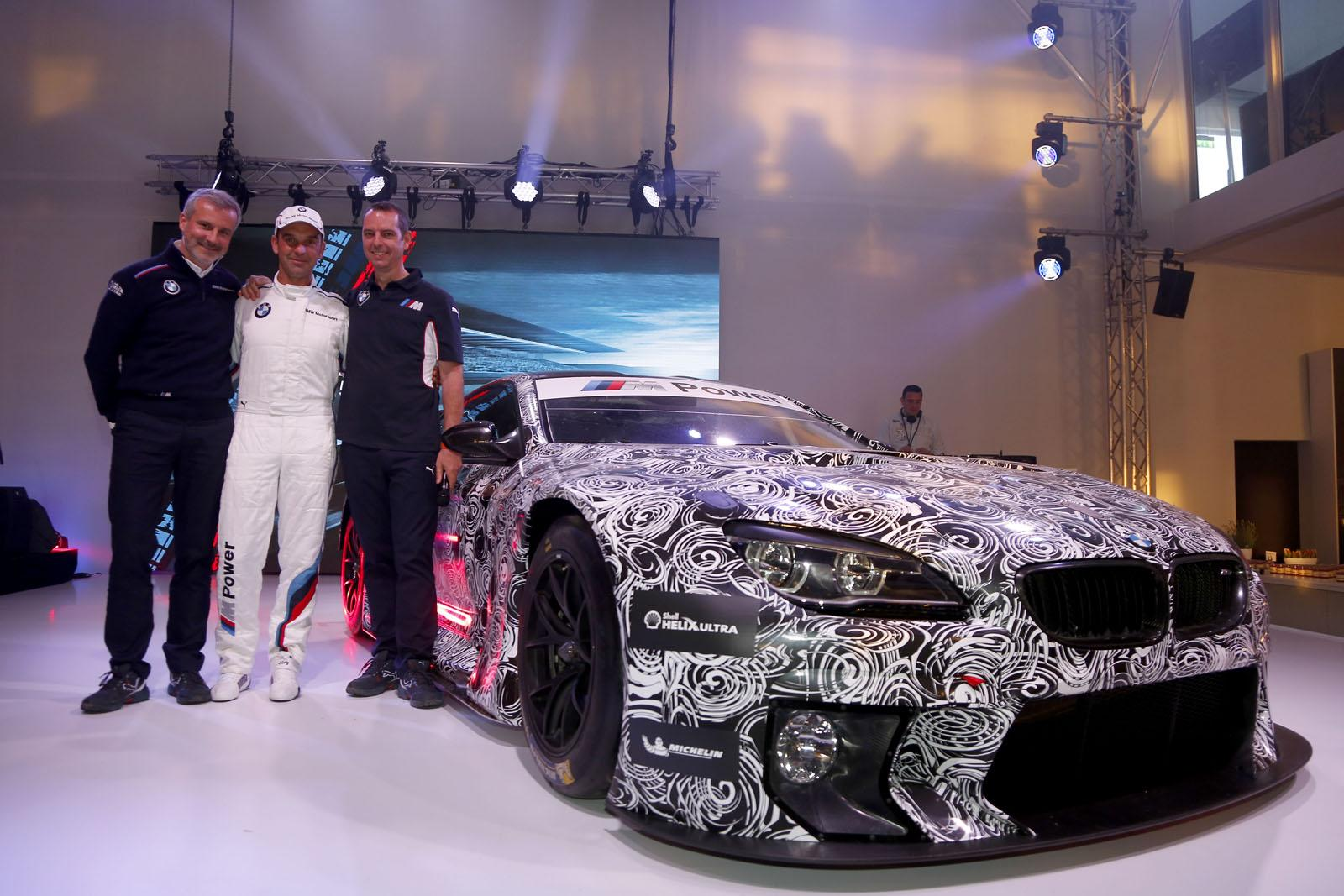 Camo D Bmw M6 Gt3 Poses At Germany S M Festival Gtspirit
