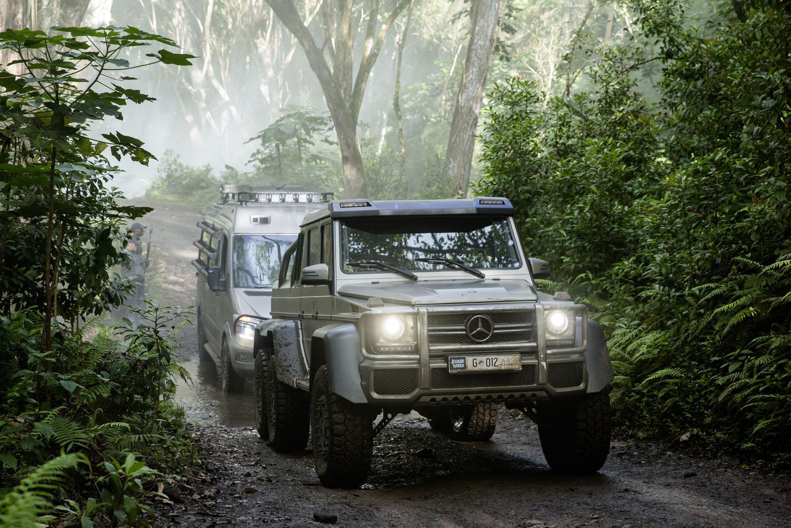Mercedes Benz Stars In Jurassic World Movie Gtspirit