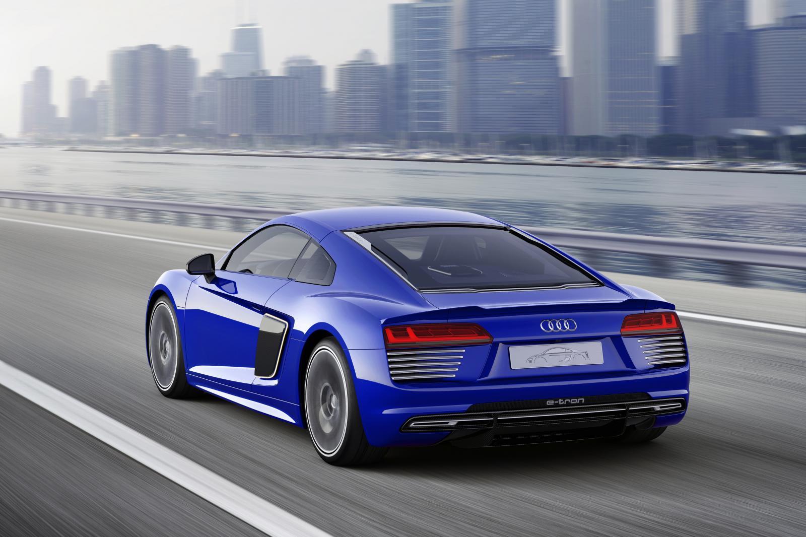 Official Audi R Etron Piloted Driving Concept GTspirit - Audi r8 e tron