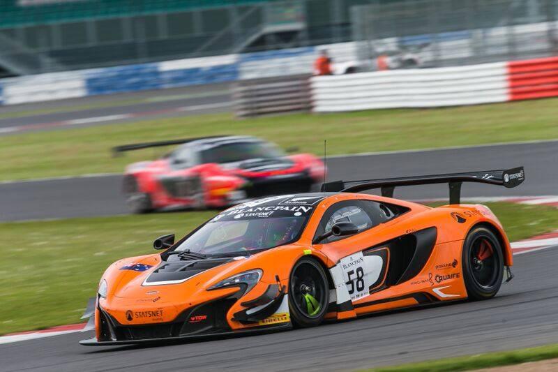 Blancpain GT: McLaren 650S GT3 Scores Maiden Win at Silverstone ...