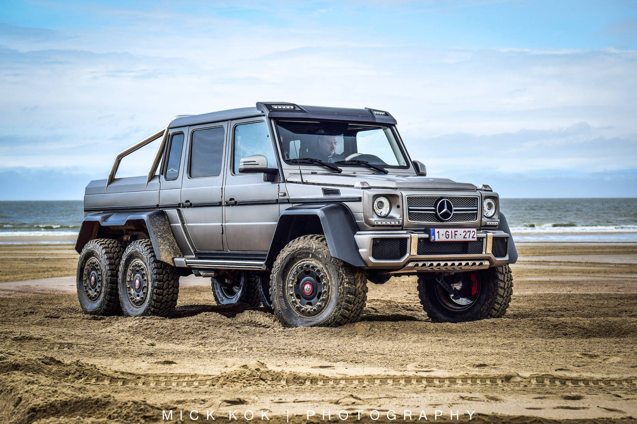 mercedes benz g63 6x6 leads border run 2015 in the netherlands gtspirit. Black Bedroom Furniture Sets. Home Design Ideas