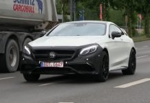 Brabus 850 Mercedes-Benz S63 AMG Coupe testing