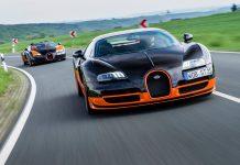 Bugatti Veyron Super Sport and Vitesse WRC