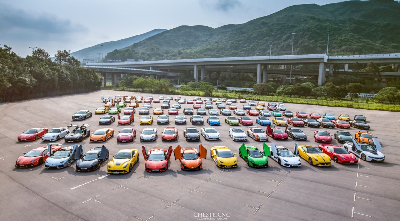 Photo Of The Day Largest Hypercar Gathering In Hong Kong Gtspirit