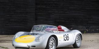 Bonhams sale Stirling Moss Porsche RS61