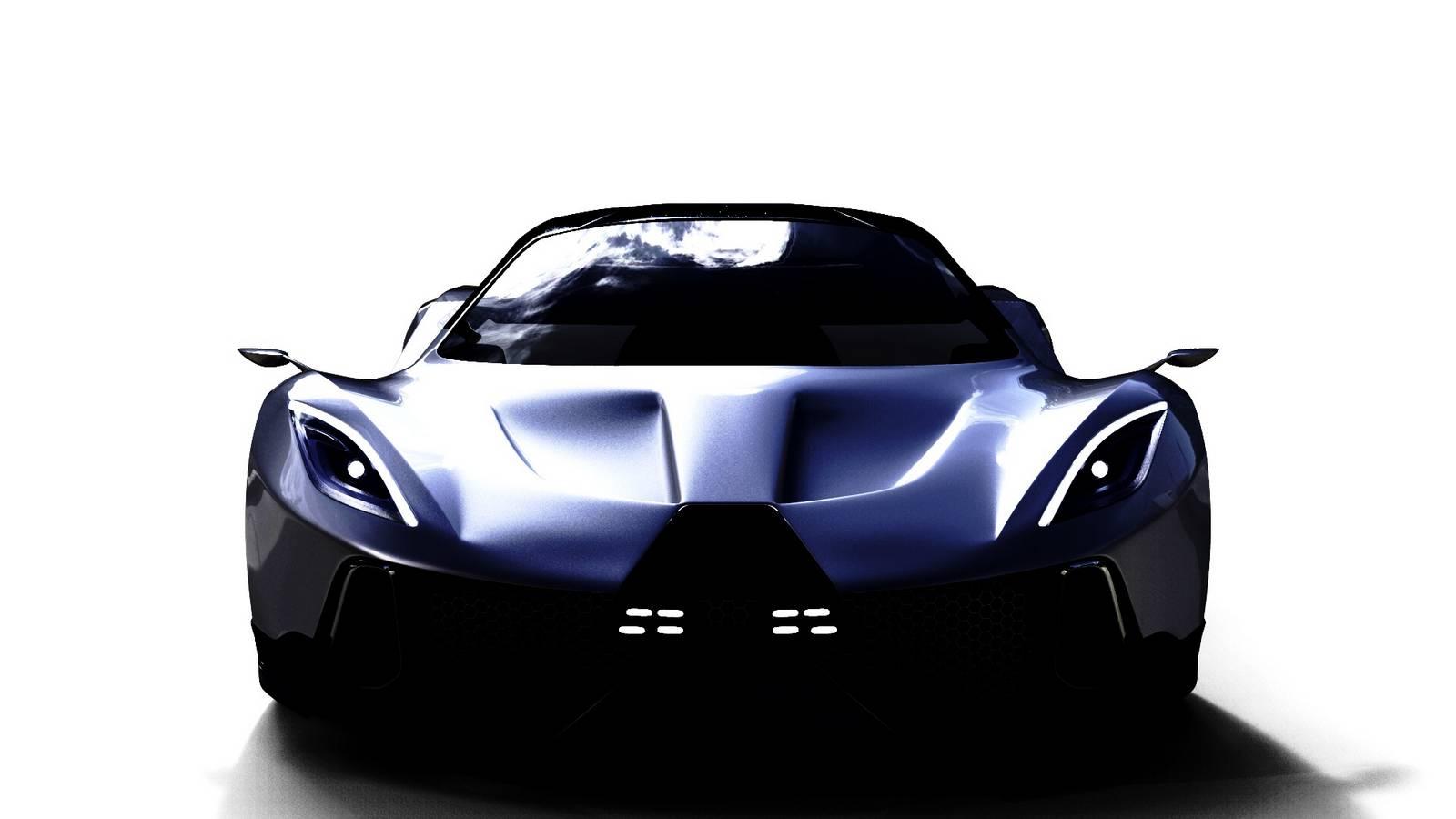PSC Motors Teases 1700hp Hybrid Supercar - GTspirit
