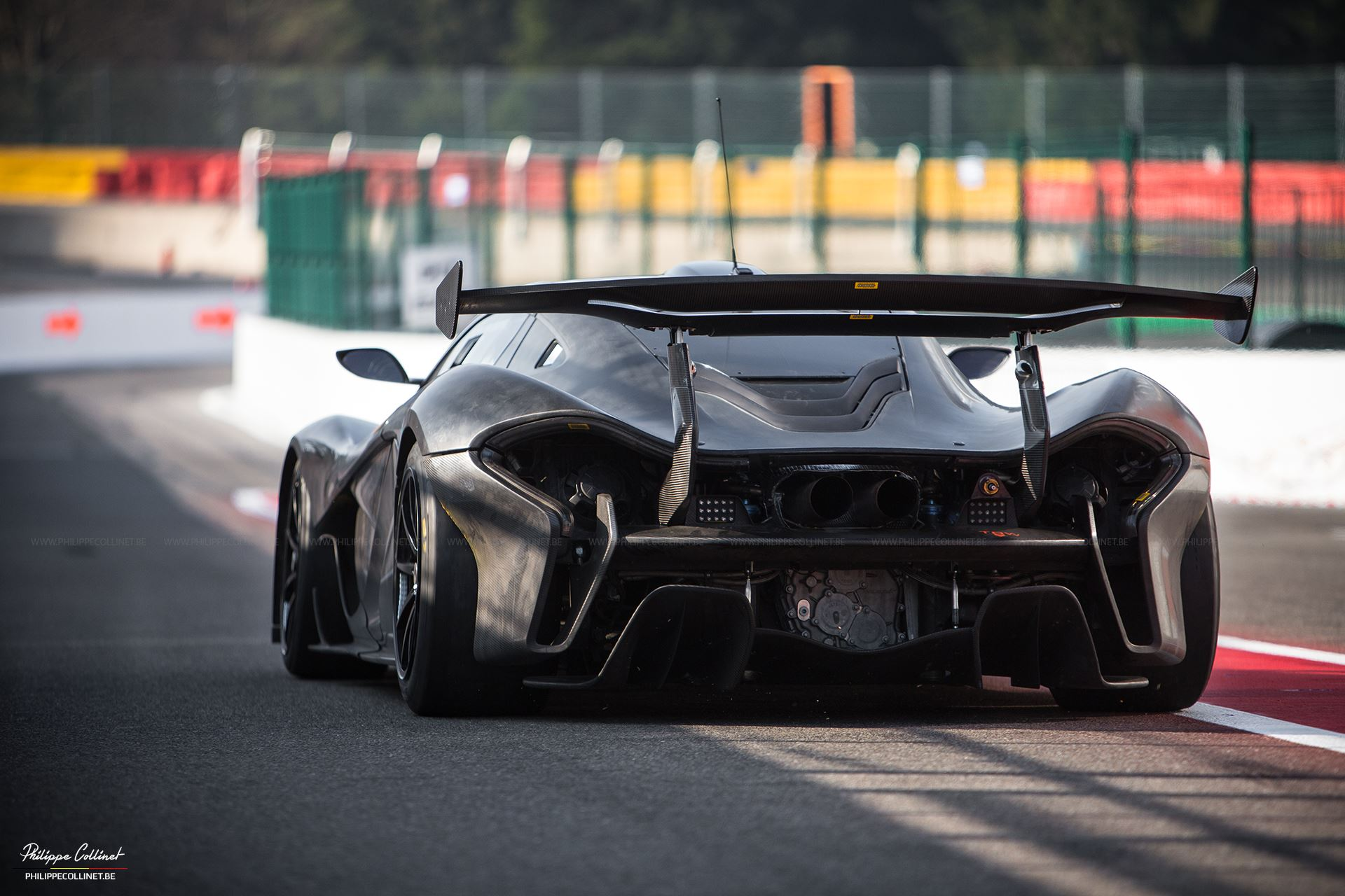 mclaren p1 gtr headlines pure mclaren 2015 at spa gtspirit. Black Bedroom Furniture Sets. Home Design Ideas