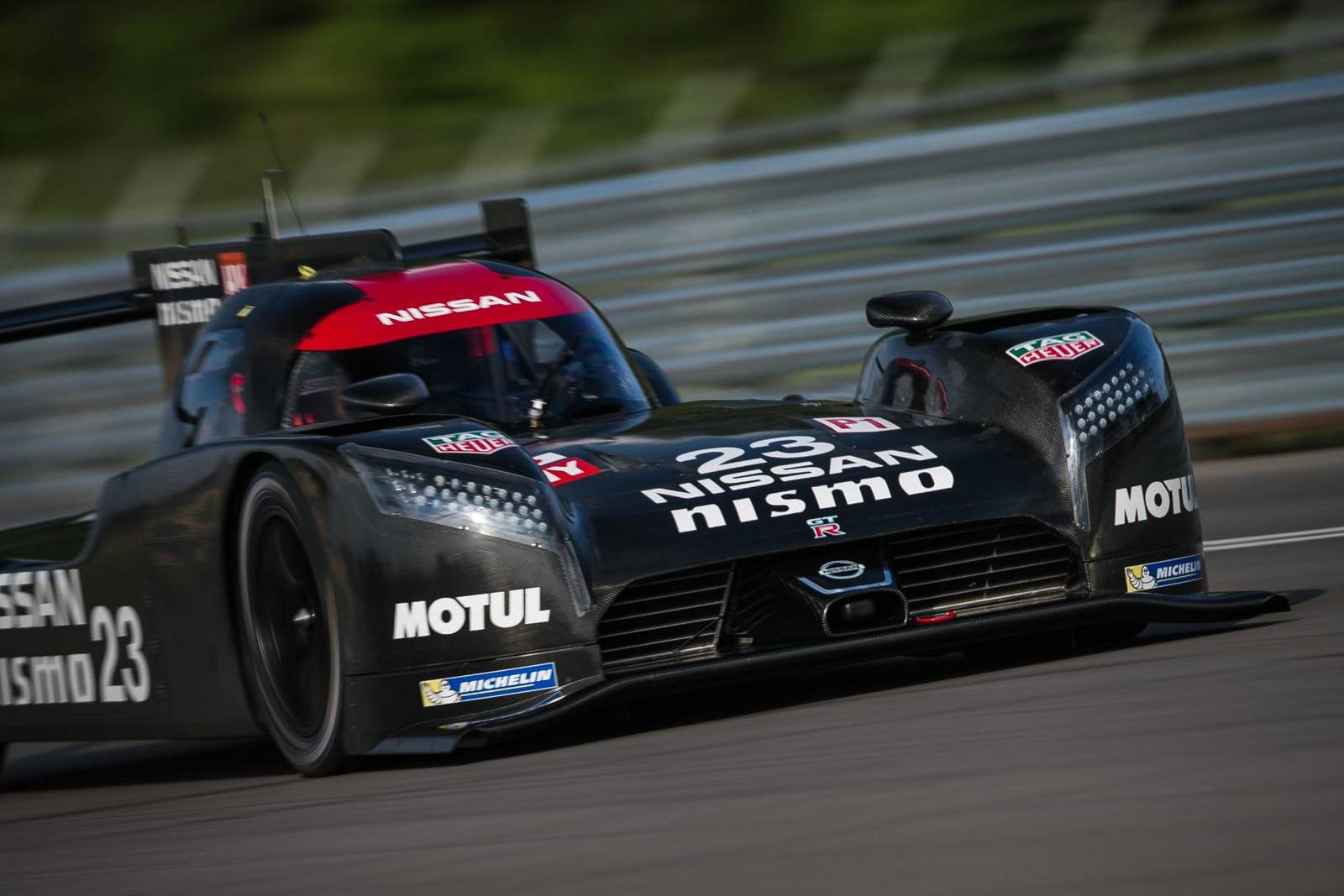 Great Black Nissan GT R LM NISMO