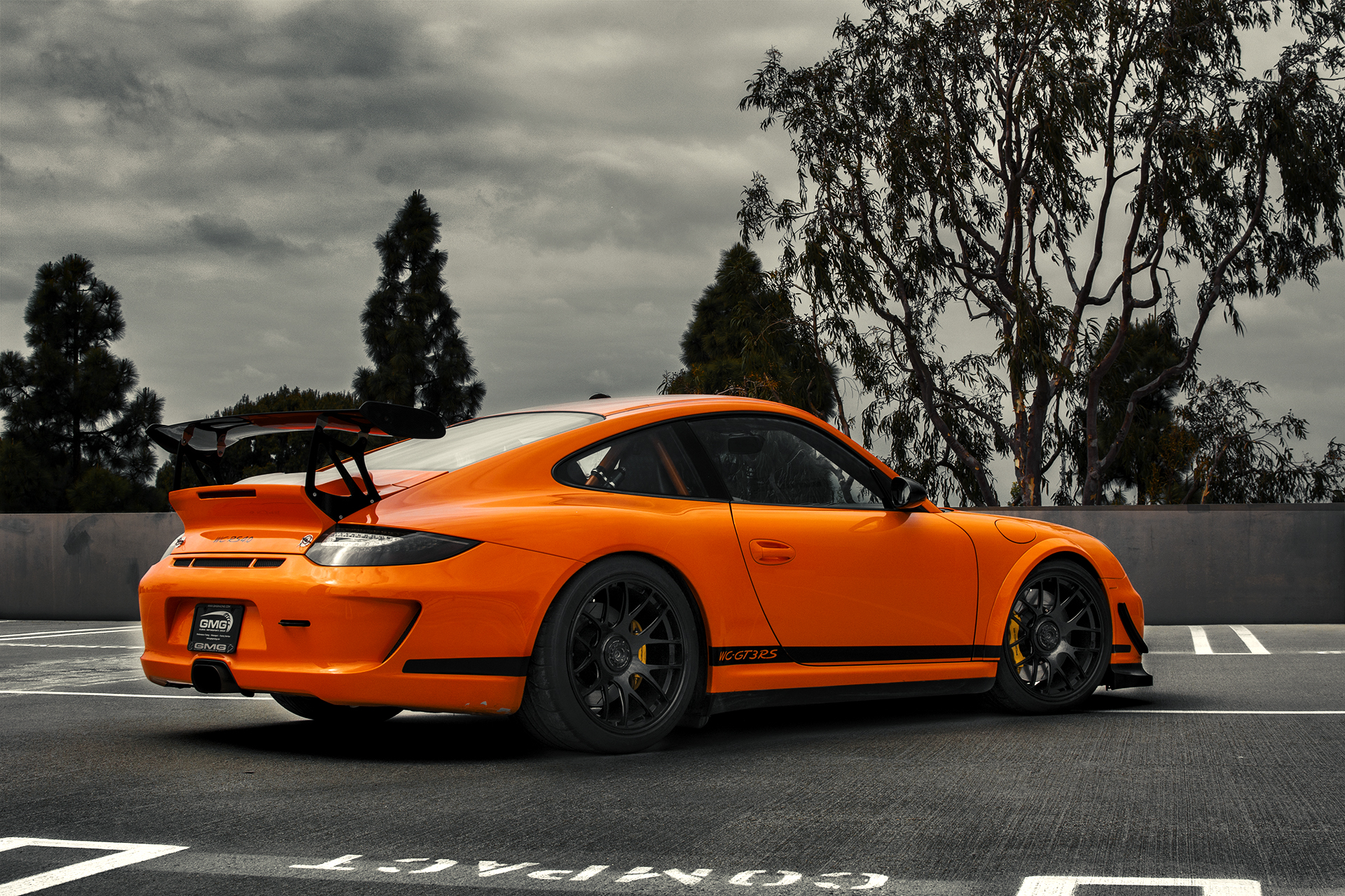orange porsche 911 gt3 rs by gmg racing gtspirit. Black Bedroom Furniture Sets. Home Design Ideas