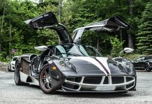 "Pagani Huayra ""The King"" 1 of 1 of 1 Delivered in the US"