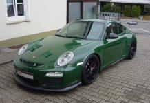 Unique British Racing Green Porsche 911 GT3 RS For Sale