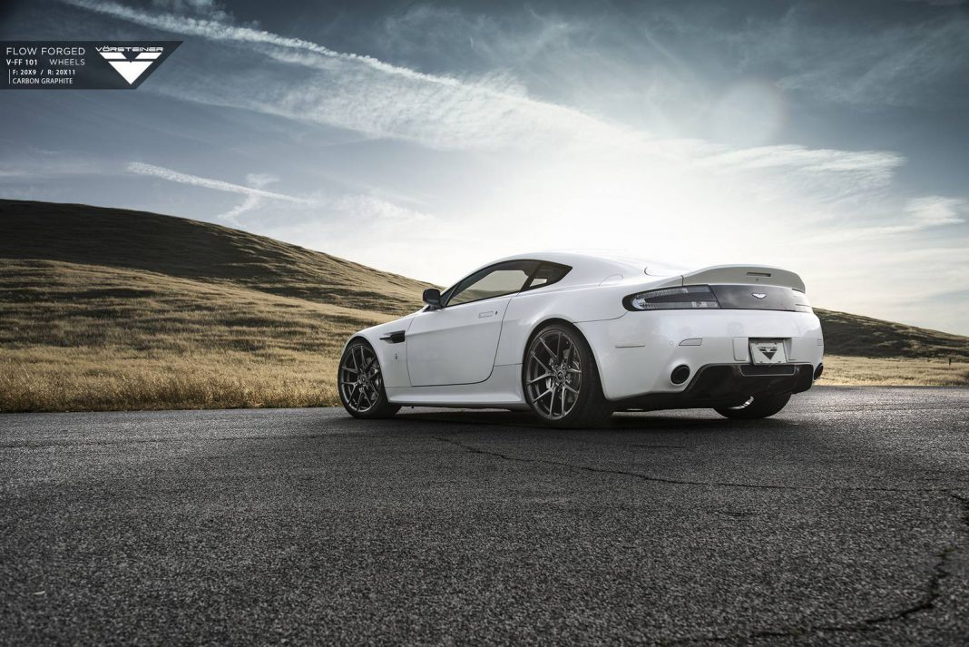 Aston Martin V8 Vantage Stuns on Vorsteiner Wheels