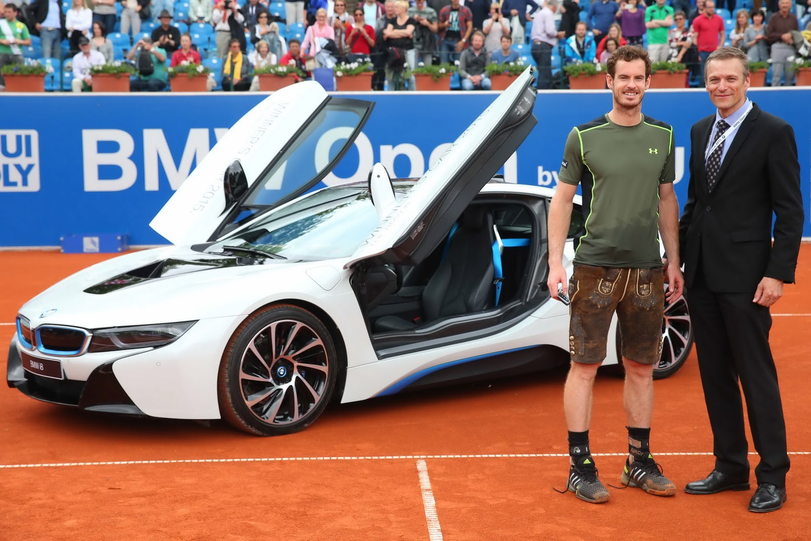 Andy Murray Awarded 2015 BMW i8