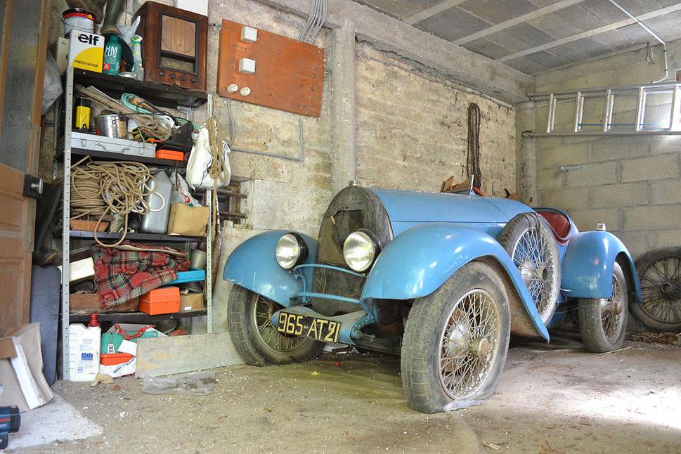 Bugatti found in barn