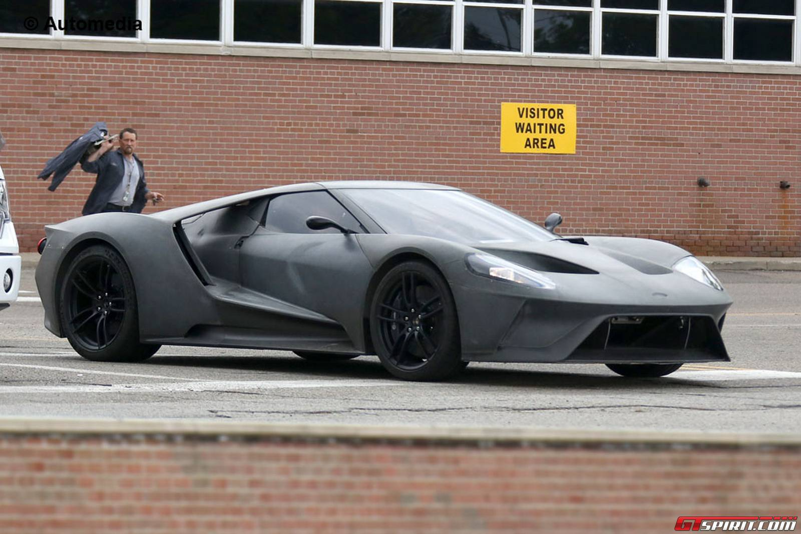 Ford Gt Front Spy Shots