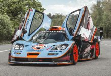 Rare McLaren F1 GTR Longtail For Sale