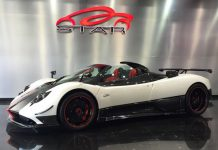 Pagani Zonda Cinque Roadster #3 of 5 For Sale in Dubai