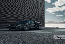 Lamborghini Aventador with HRE Wheels