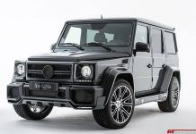 730hp Mercedes-Benz G63 AMG