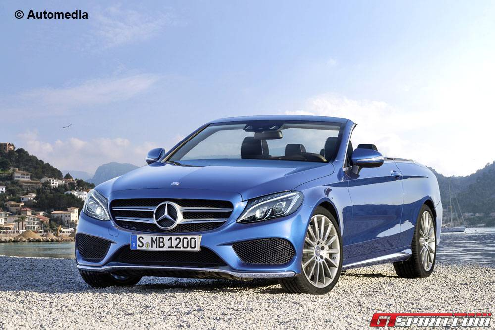 Mercedes-Benz C-Class Cabriolet Imagined in Virtual Guise - GTspirit