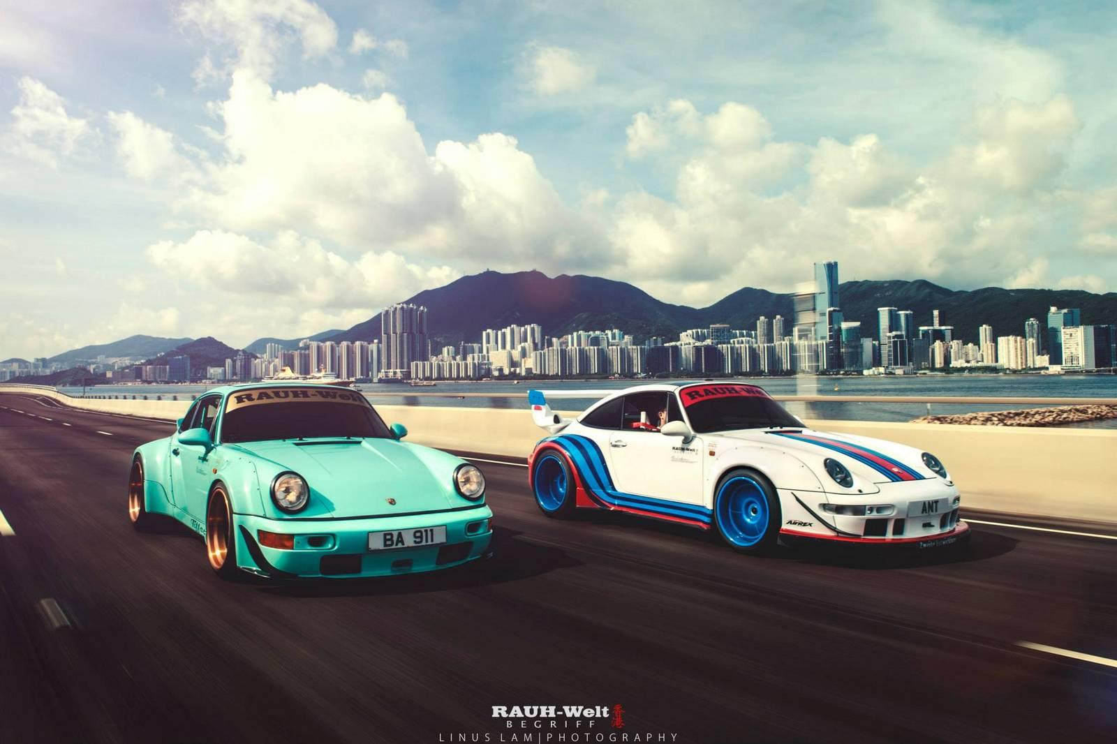 Porsche Rwb For Sale >> Photo Of The Day: Double RWB Porsche 911 in Hong Kong - GTspirit