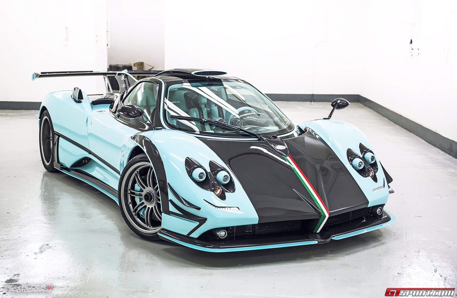 all pagani zonda 760 series models - gtspirit