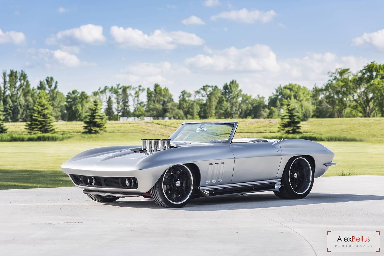 Stunning Fully Restored 1965 Silver Chevrolet Corvette! - GTspirit