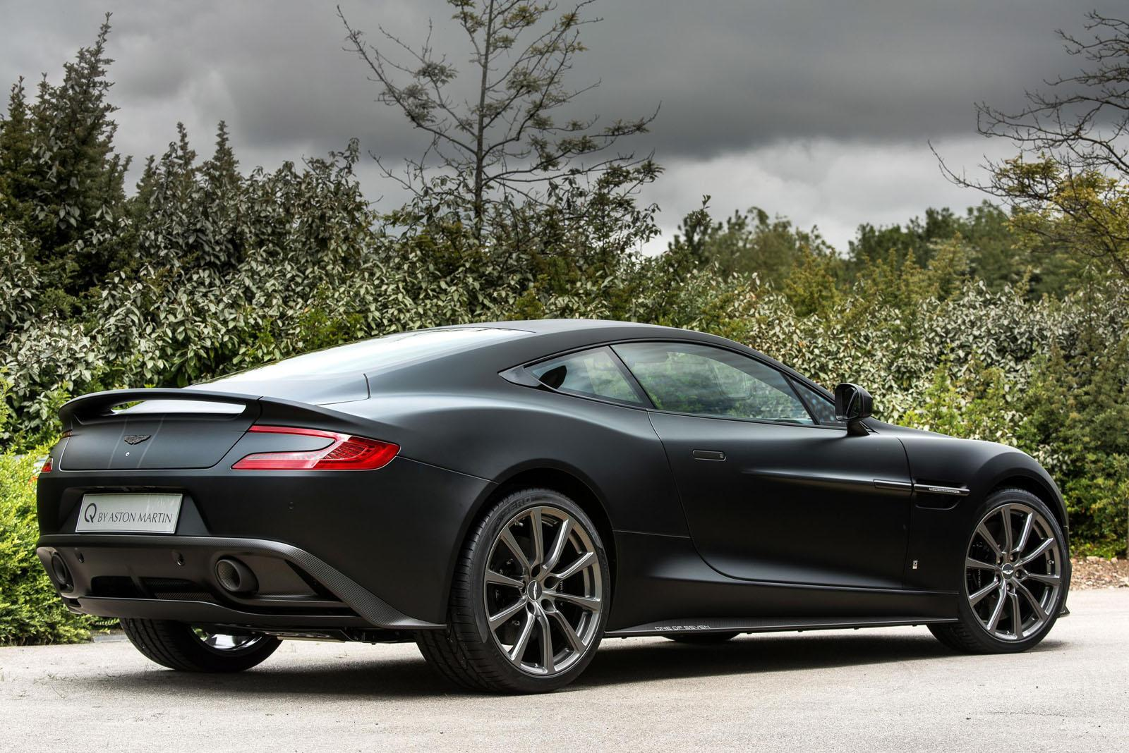 Official: Aston Martin Vanquish One Of Seven Collection