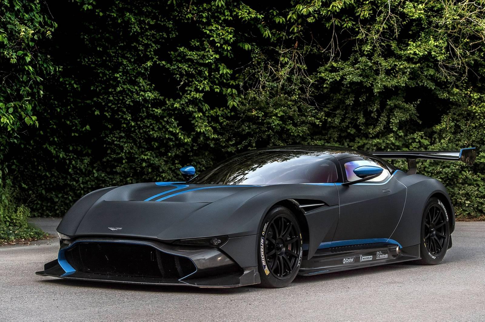 Goodwood Black Aston Martin Vulcan GTspirit - Black aston martin