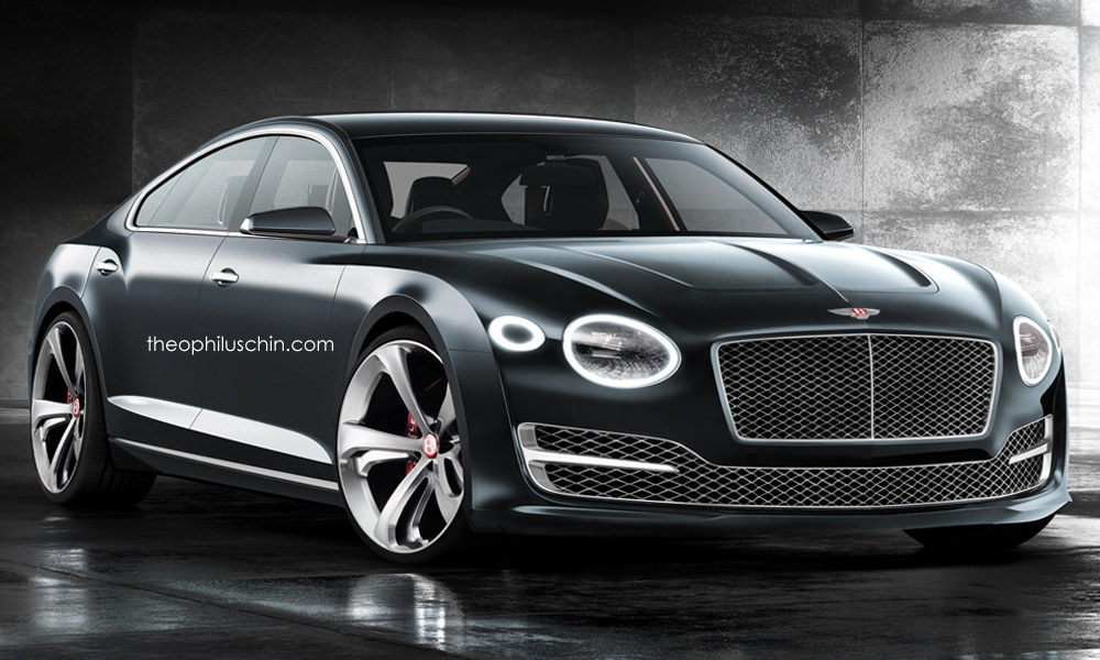Bentley Four Door Coupe Gets Our Approval - GTspirit