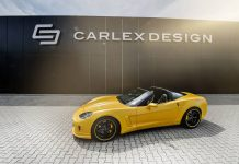 1100hp Corvette C6 Yellow Line by Carlex Design