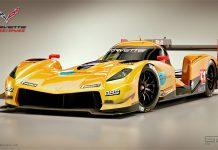 Corvette LMP1 rendered