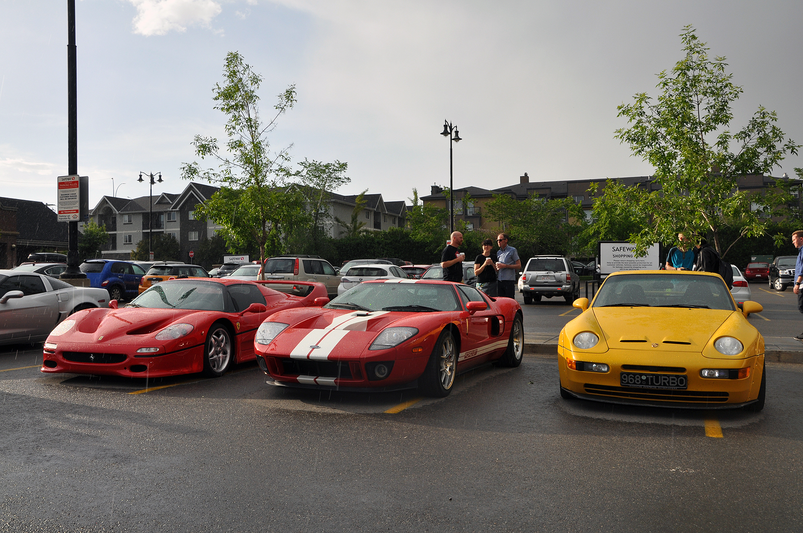 Ferrari F50 And More At Euro Cars Coffee In Calgary