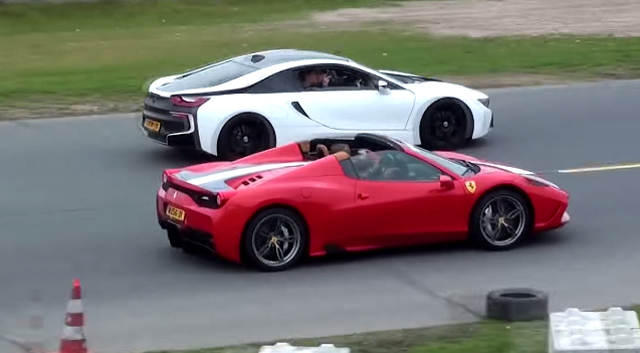 Video Ferrari 458 Speciale A Goes Drag Racing Gtspirit