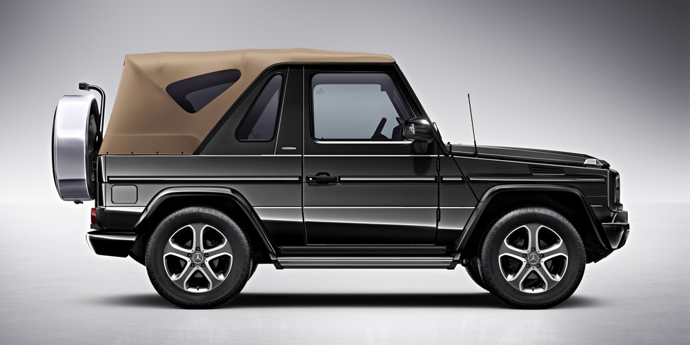 mercedes benz considering new convertible suv gtspirit. Black Bedroom Furniture Sets. Home Design Ideas