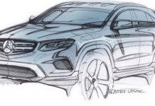 Mercedes-Benz GLC sketch revealed