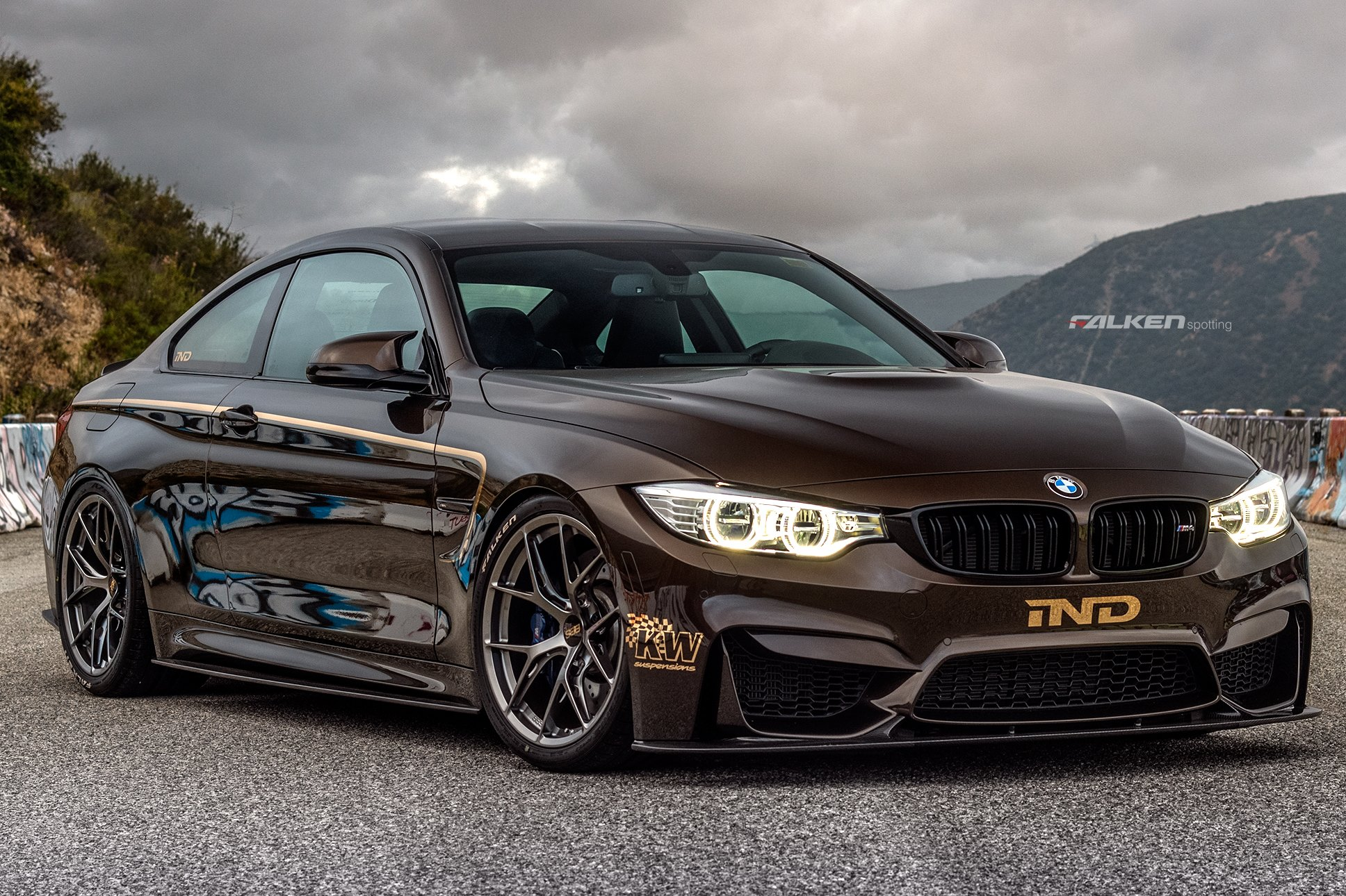 ind creates pyrite brown bmw m4 gtspirit. Black Bedroom Furniture Sets. Home Design Ideas