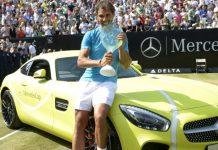 Rafael Nadal wins Mercedes-AMG GT S