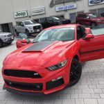 Red Roush Warrior T/C Mustang Military Special Edition