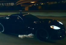 Crazy 2400hp Chevrolet Corvette on the streets