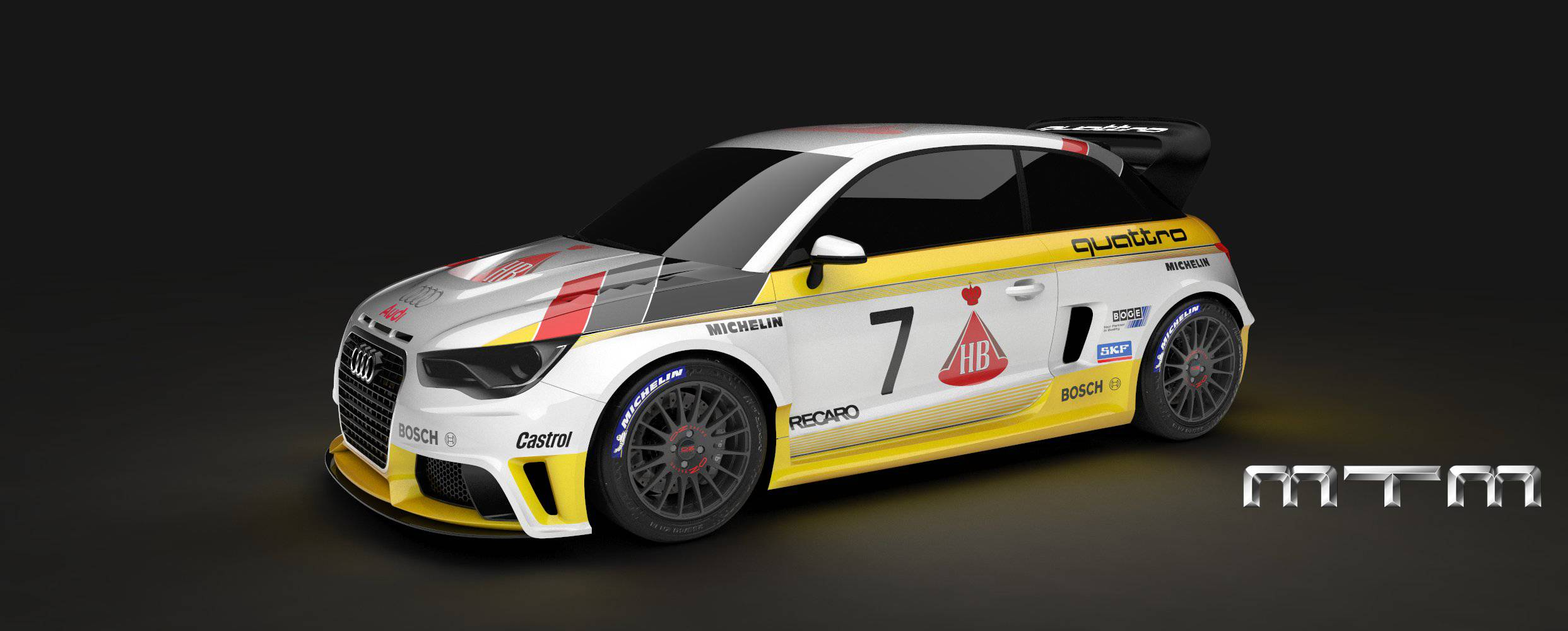 Mtm Previews Audi S1 Quattro Group B Gtspirit