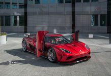 Koenigsegg Agera R with ADV.1 Wheels