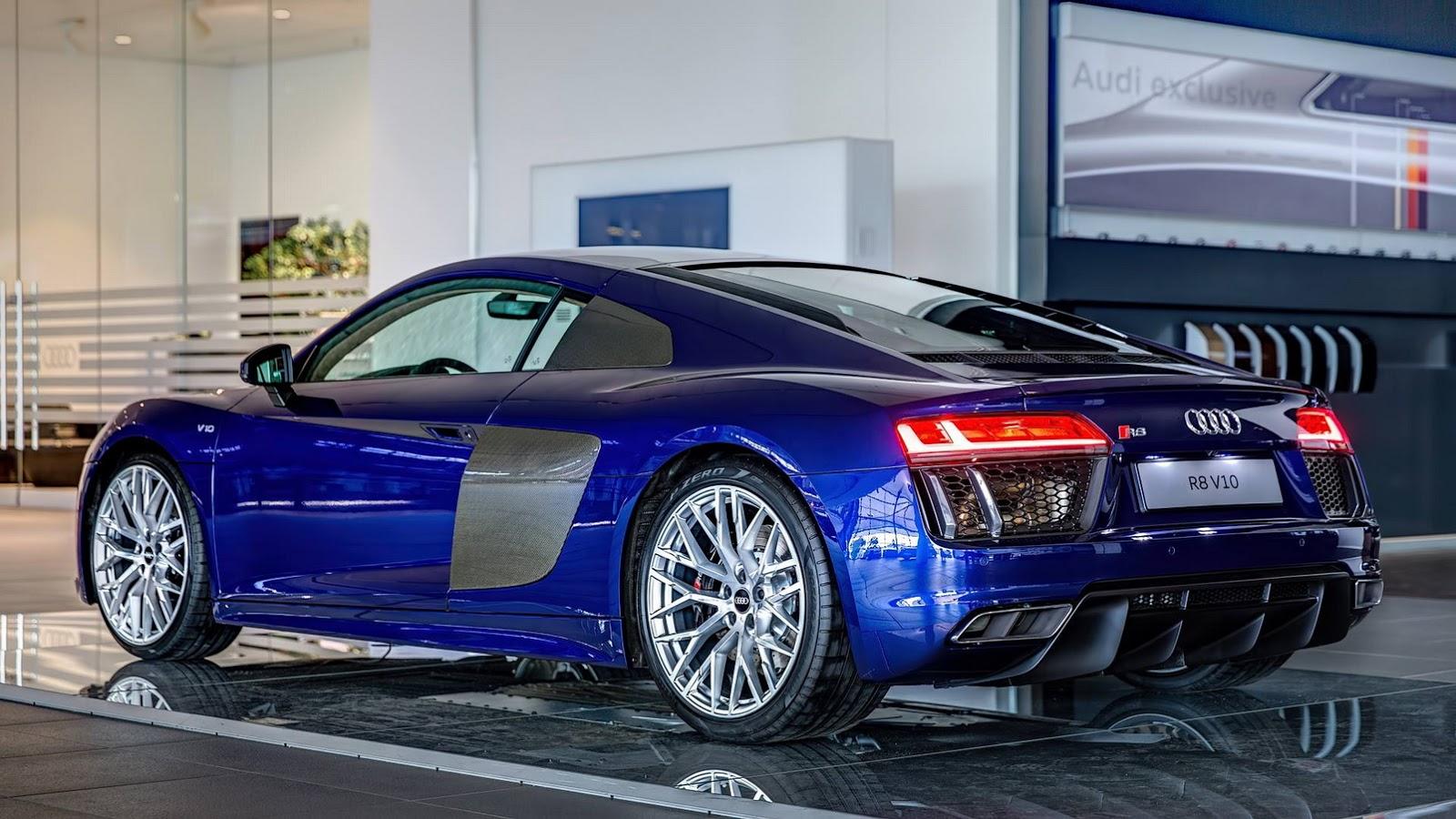 Beautiful Blue 2016 Audi R8 V10 In Germany Gtspirit