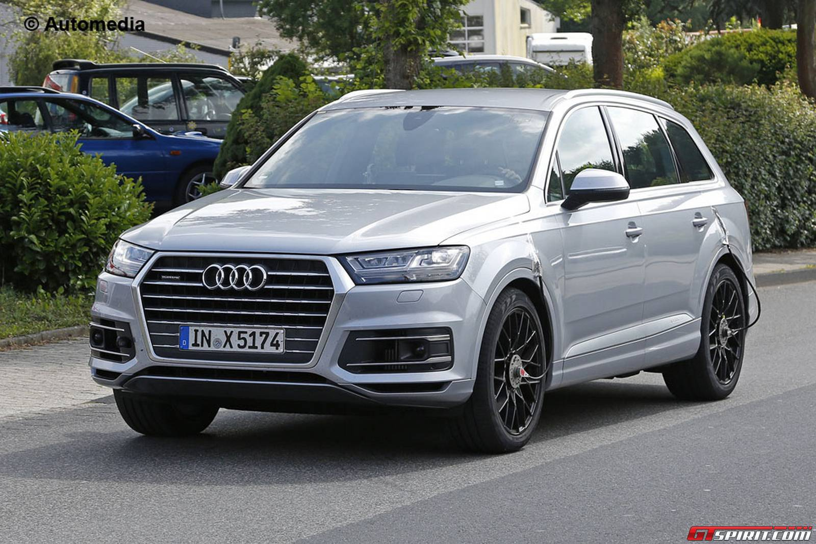 Video Audi Sq7 Crashes At The Nurburging During Testing