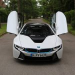 BMW i8 front view